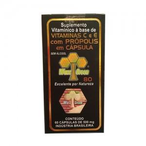 巴西维生素E 蜂胶胶囊 (80浓度) [60粒]