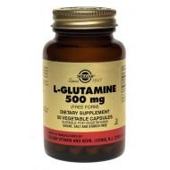 美國Solgar 谷氨酰胺 500MG (增強免疫系統) (100粒/瓶)