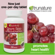 trunature® Grape Seed & Resveratrol [150 tab]