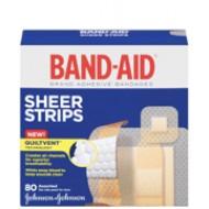 BAND-AID 膠布, 不同尺寸80片裝