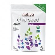 Nutiva® Chia Seed 黑奇亚籽 [12安士/包]