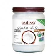 Nutiva® 有機椰子油 [15oz/瓶]