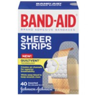 BAND-AID 膠布, 不同尺寸40片裝